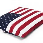 Pouf géant drapeau USA