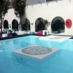 Déco de l'émission Secret Story 5 : La piscine
