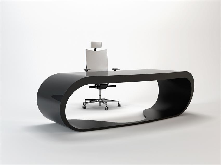 Goggle desk bureau noir design