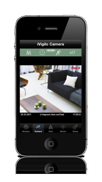 iVigilo - video-surveillance sur votre iPhone