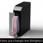Petite machine à laver pour célibataire Almighty