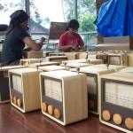 Fabrication de la radio en bois Magno