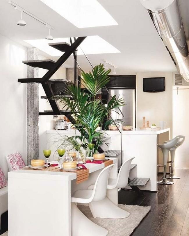 photos d 39 un appartement moderne. Black Bedroom Furniture Sets. Home Design Ideas