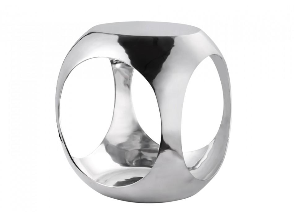 Table basse en aluminium so cube by inside art - Table basse en aluminium ...