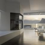 Salle à manger avec vue panoramique : O house
