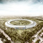 Apple campus à Cupertino by Foster + Partners