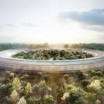 Le futur siège d'Apple en forme de cercle