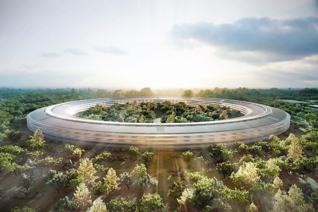 Le futur campus Apple enfin dévoilé [photos inside]