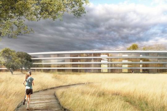 Les nouveaux bureaux d'Apple à Cupertino - Apple campus