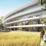 Nouveau campus Apple à Cupertino