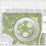 Plan du futur campus Apple