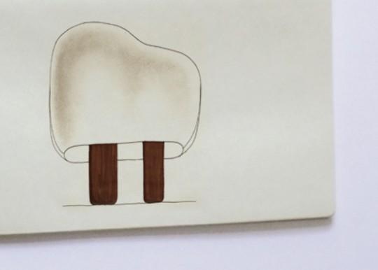 Dessin de designer - Lampe Forêt Illuminée par Ionna Vautrin