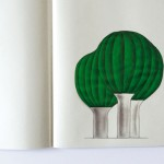 Croquis de designer - Lampe forêt illuminée par Ionna Vautrin