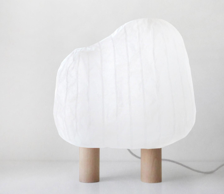Lampe Forêt illuminée by Super-ette