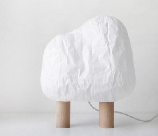 Lampe à poser Forêt illuminée éditée par Super-ette