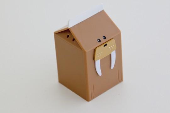 Fridgezoo, la brique de lait en forme d'animal (Morse)