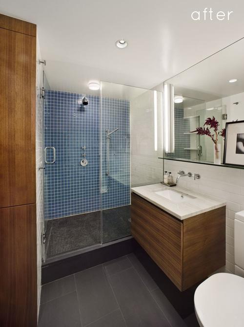 Salle de bain : la baignoire a été remplacée par une douche
