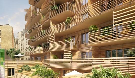 Immeuble neuf en bois : Résidence numéro 15 by Nexity