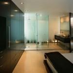 M house : master bedroom dans une villa de luxe