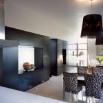 M house : meuble de salle à manger noir