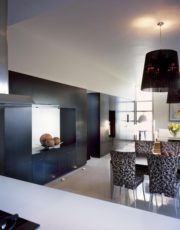 M house meuble de salle manger noir for Meuble de salle a manger noir