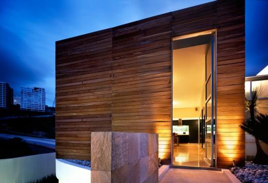 M house : villa de luxe en bois
