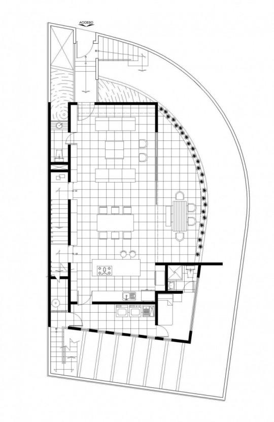 M house : plan d'une villa de luxe au Mexique