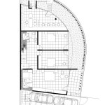 M house : plan du rez-de-chaussée de la villa