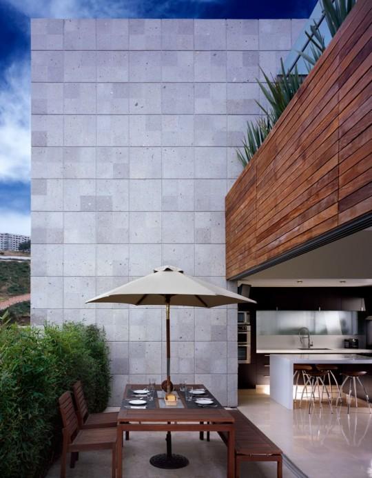 La terrasse de la villa M house