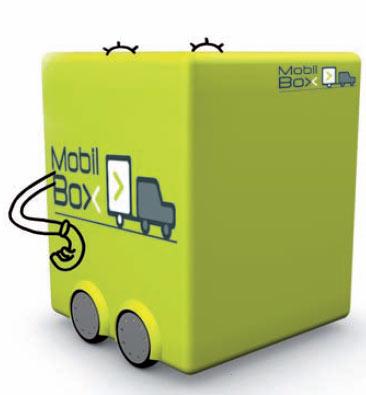 Mobil box - box stockage mobile