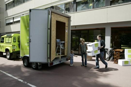 Mobilbox : chargement de votre box garde-meubles mobile