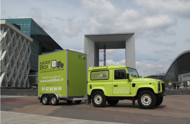 Mobilbox, le garde-meubles mobile qui vient à vous !