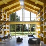 Nobis, maison en bois avec mezzanine
