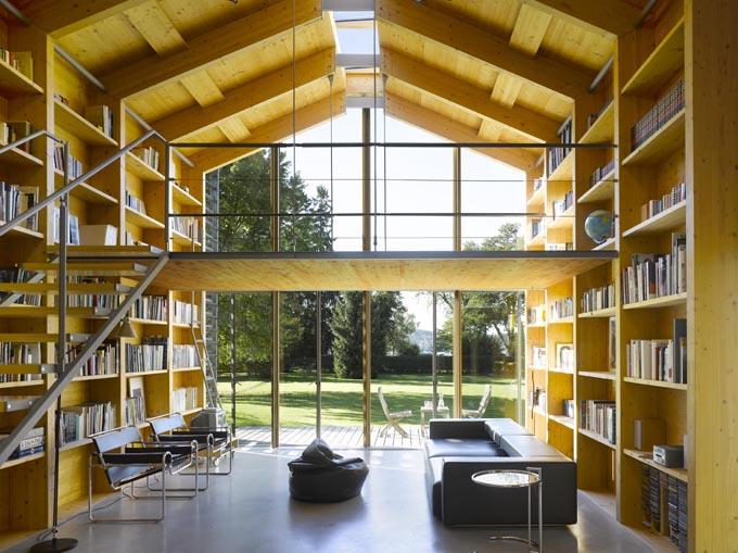Nobis maison en bois avec mezzanine for Maison avec mezzanine