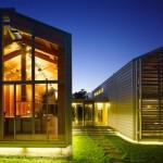Nobis house, maisons en bois jumelles