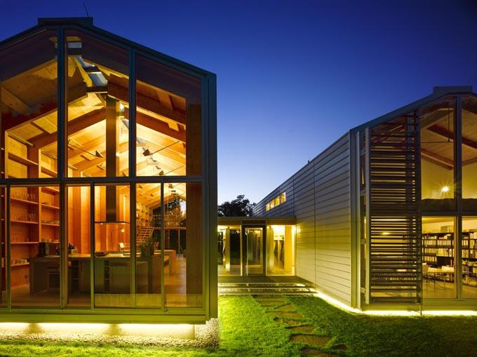 nobis house maisons en bois jumelles. Black Bedroom Furniture Sets. Home Design Ideas