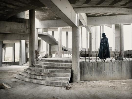 Dark Vador dans un loft