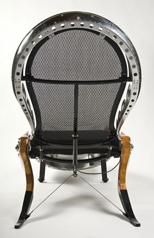 Aviator chair - chaise longue design par David Catta