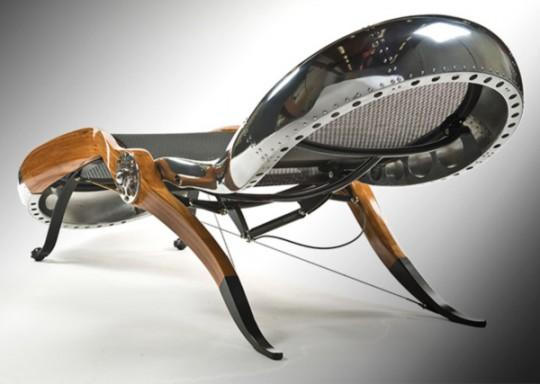 Aviator chair - design David Catta