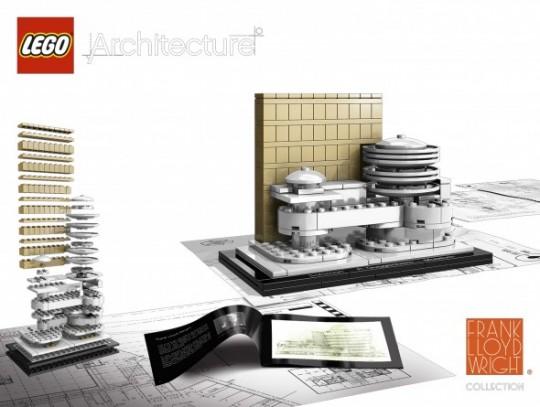 Boite Lego architecture