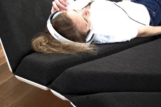 Cay sofa - canapé pliable modulaire par Alexander Rehn