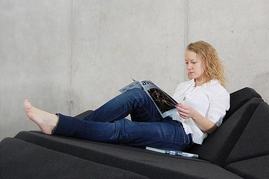 Cay sofa - canapé pliable et modulable