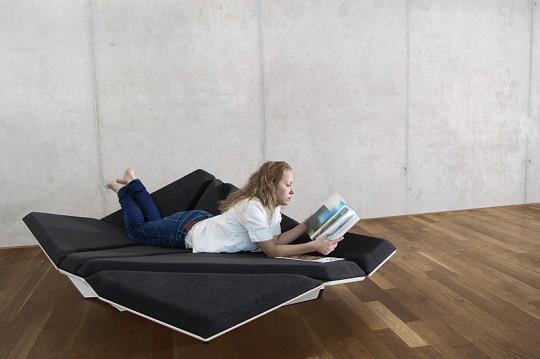 Cay sofa, canapé pliable design