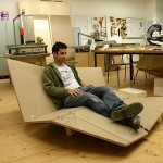 Cay sofa - prototype de canapé pliable en bois