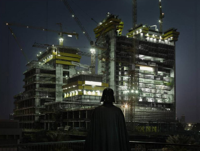 Reconversion : Dark Vador quitte l'empire pour devenir chef de chantier