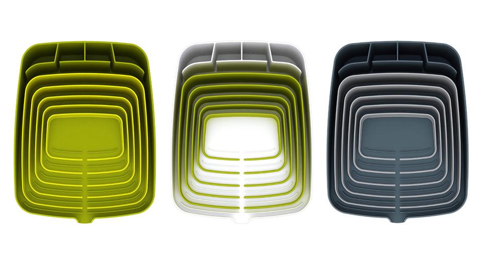 Egouttoir à vaisselle design Joseph Joseph Arena