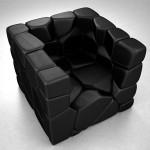 Fauteuil modulaire design Vuzzle chair
