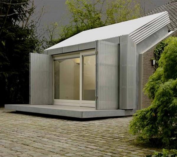 Atypique Un Ancien Garage Transform 233 En Bureau Design