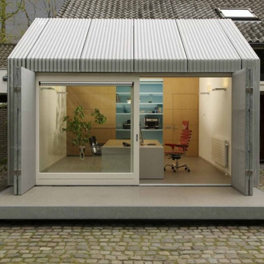 Insolite : un bureau d'architecte installé dans un ancien garage