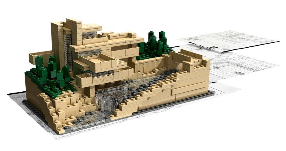 Lego architecture : Fallingwater